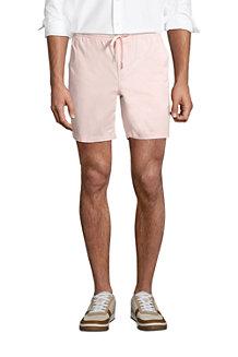 Men's Chino Shorts with Elastic Waist