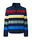 Gemusterter T200 Fleece-Pullover mit Druckknopfleiste für Herren