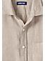 Leinenhemd mit langen Ärmeln für Herren, Classic Fit