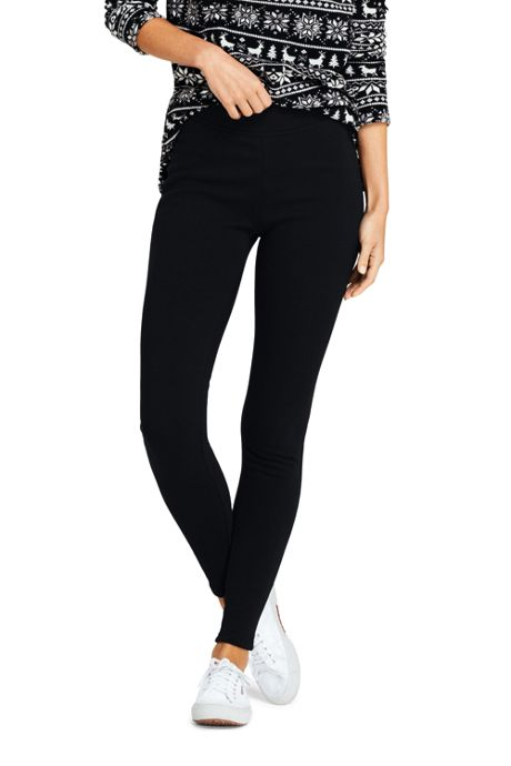 Women's Petite Fleece Lined Leggings