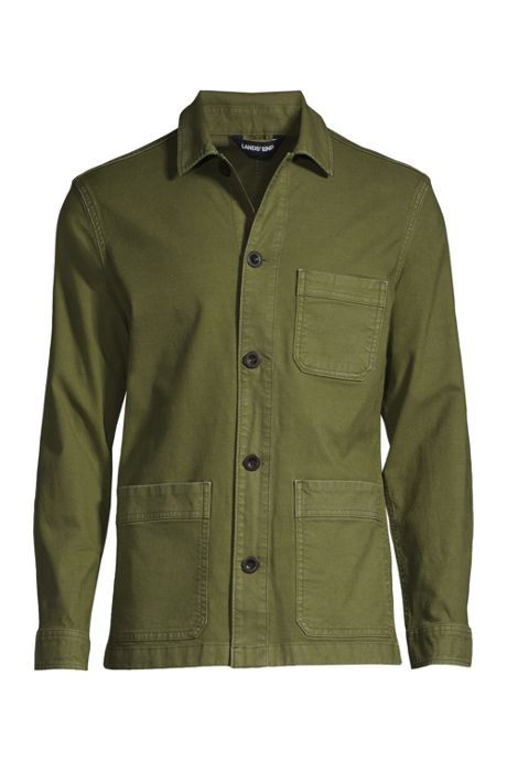 Men's Canvas Shirt Jacket