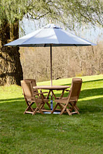 Teak Folding Side Chair (Set of 2), alternative image