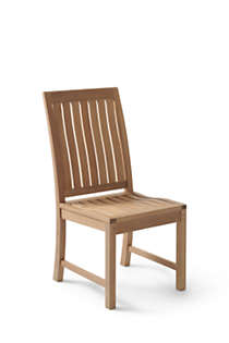 Teak Dining Chair, Front