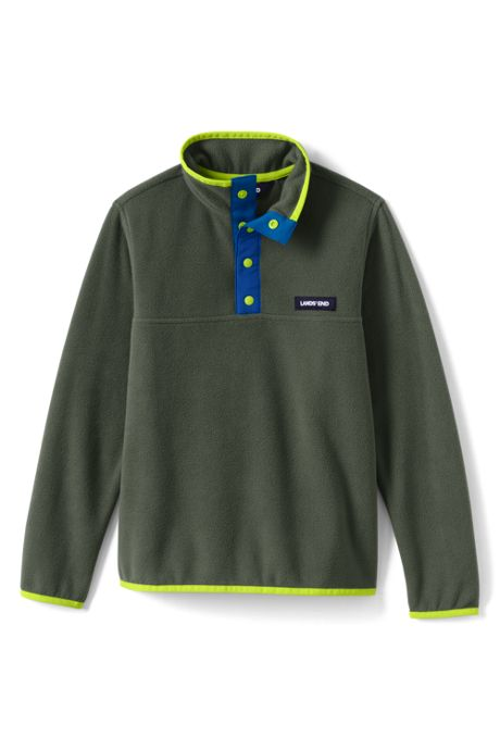 Big Kids Fleece Pullover