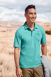 Men's Tall Super-T Short Sleeve Polo Shirt, alternative image