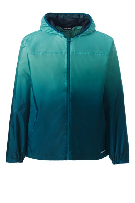Men's Pattern Waterproof Windbreaker Jacket