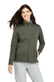 Women's Petite Quilted Fleece Jacket