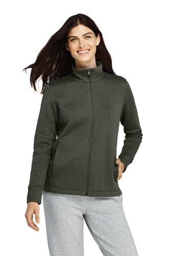 Women's Water-Repellent Quilted Fleece Jacket