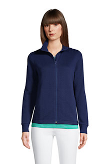 Women's Water-Repellent Quilted Fleece Jacket