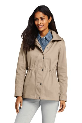 Women's Lightweight Cotton Jacket with Stretch