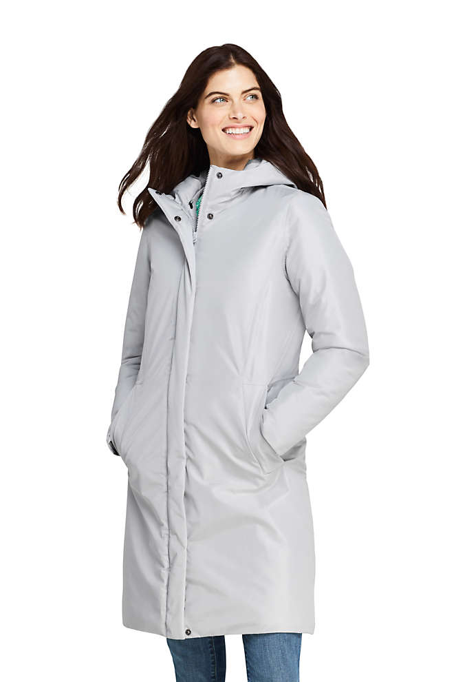 Women's Insulated Raincoat, Front