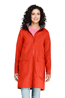 Women's Waterproof Raincoat with Stretch