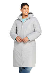Women's Plus Size Insulated Raincoat
