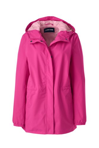 Women's Petite Packable Raincoat