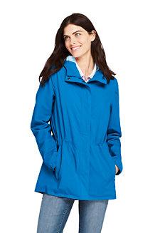 Wasserdichte Regenjacke mit Packfach für Damen