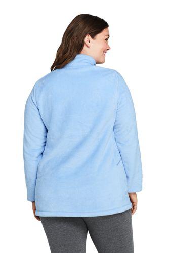 Women's Plus Size Softest Fleece Tunic Pullover