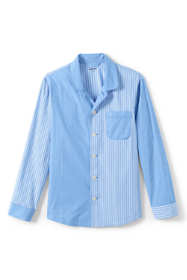 Men's Colorblock Broadcloth Pajama Shirt