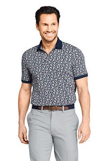 Men's Supima Polo Shirt, Print