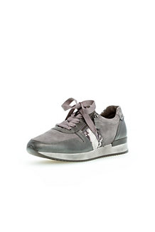Women's Gabor Lulea Casual Zip Leather/Suede Trainers