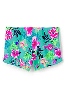 Girls Swim Boy Shorts, Back