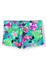 Little Girls Swim Boy Shorts