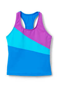 Girls Colorblock Tankini Top