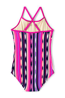 Girls Plus Ruffle One Piece Swimsuit, Back