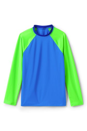 Boys' Rash Vest, Colourblock