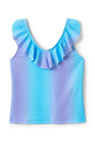 Girls Ruffle Tankini Top