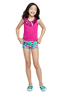 Girls Ruffle Tankini Top, alternative image