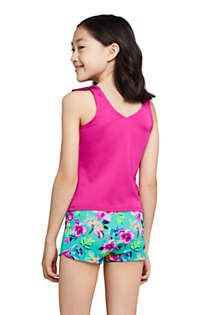 Girls Ruffle Tankini Top, Back