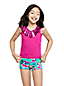 Girls' Ruffle Front Tankini Top