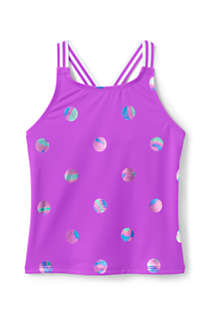 Girls Sport Tankini Top, Front