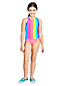 Girls' Sport Straps Tankini Top