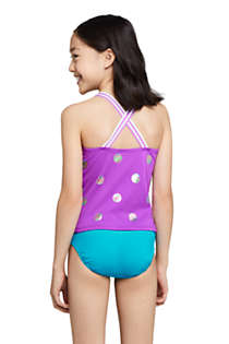Girls Sport Tankini Top, Back