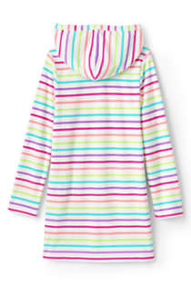 Toddler Girls Terry Pullover Cover-up, Back