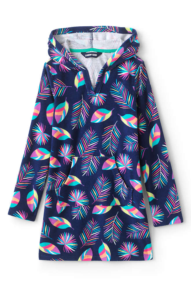 Girls Terry Pullover Cover-up, Front