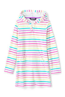 Little Girls Terry Pullover Cover-up, Front