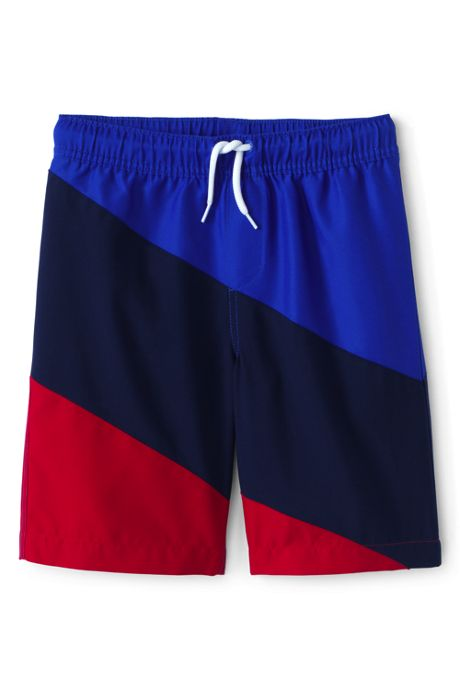 Big Boys Diagonal Swim Trunks
