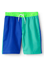 Big Boys Colorblock Swim Trunks