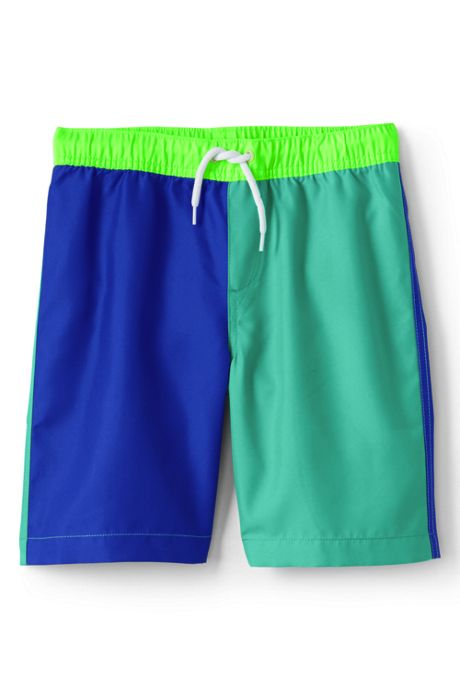Toddler Boys Colorblock Swim Trunks