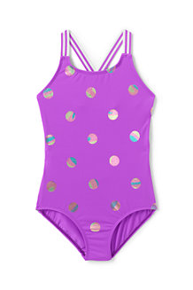 Girls' Sport Cross-back Swimsuit
