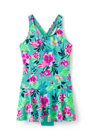 Girls Plus Skirted One Piece Swimsuit