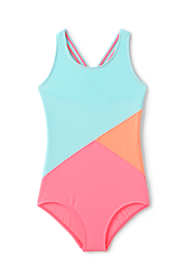 Girls Colorblock One Piece Suit