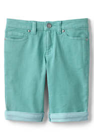Little Girls Denim Bermuda Jean Shorts