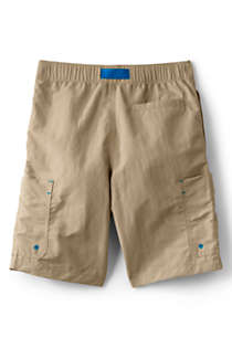 Boys Husky Quick Dry Camp Shorts, Back