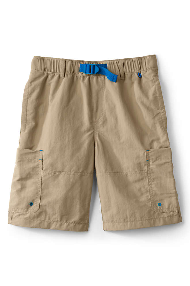 Boys Husky Quick Dry Camp Shorts, Front