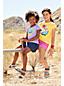 Girls' Rainbow Speckled Jersey Skort