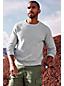 Men's Textured Cotton Jumper