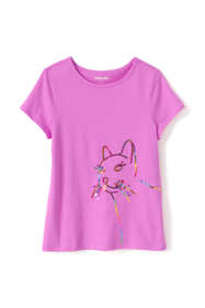 Girls Plus Graphic Embellished T Shirt